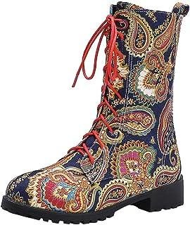 Stivaletti Bassi Stivali Plus Size Stivali di Colore Tubo Medio