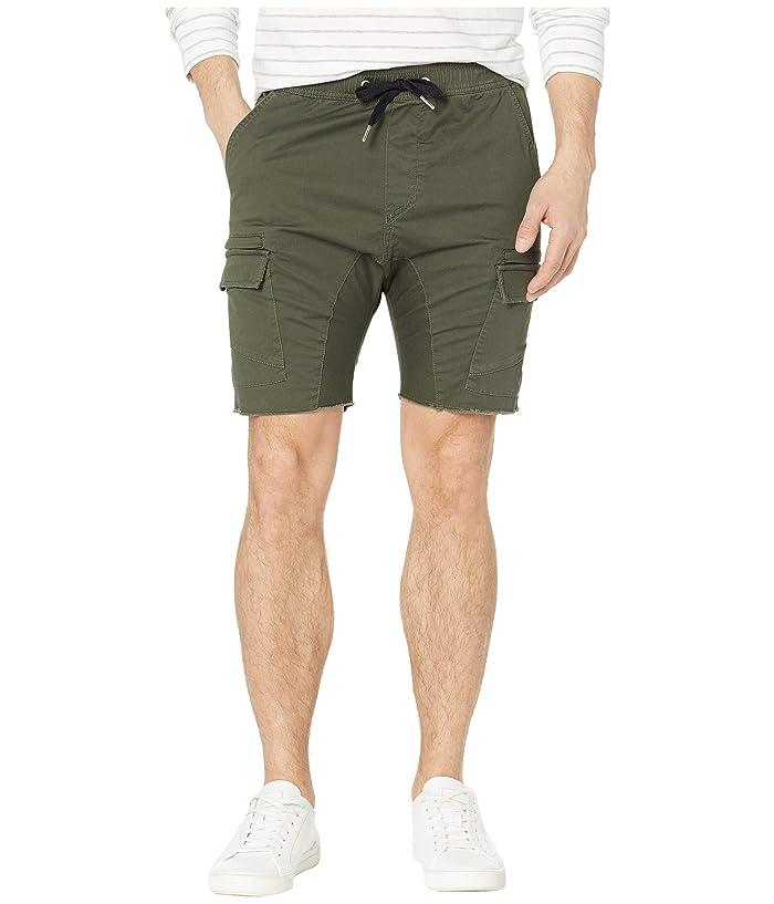 Zanerobe Sureshot Lite Cargo Shorts (Military) Men