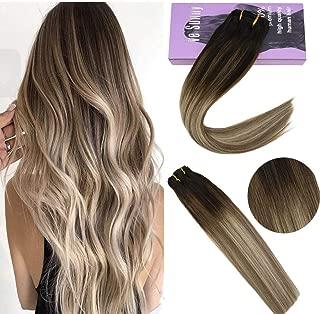 Best dark ash brown clip in hair extensions Reviews