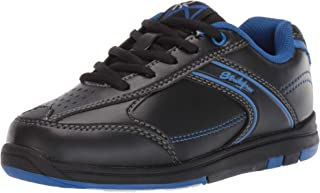 KR Strikeforce Bowling Shoes Youth Flyer Bowling ShoesBlack/Magenta Blue M US, Black/Magenta Blue, 5