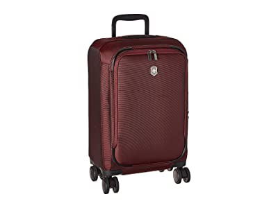 Victorinox Connex Frequent Flyer Softside Carry-On (Burgundy) Luggage