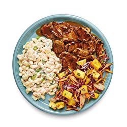 Amazon Meal Kits, Hawaiian BBQ Glazed Pork, Serves 2