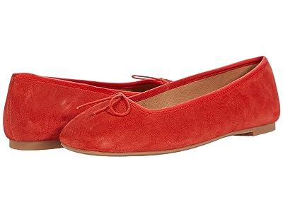 Soludos Darby Ballet Flat (Poppy Red) Women