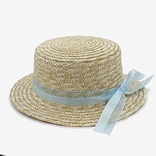 LiWen Zheng Fashion Classical Style sun hat for women Bowknot flat hat Elegant Lady Women's Summer Bow Straw Hats