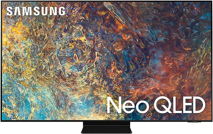 Smart tv 55 pollici samsung neo qled 4k ultra hd quantum matrix processore neo quantum 4k con IA QE55QN90AATXZT