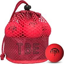 【FST限定モデル】トビエモン(TOBIEMON) ゴルフボール TOBIEMON 視認性抜群! 蛍光マットカラーゴルフボール R&A公認球 2ピース 12球入 オリジナルメッシュバック入