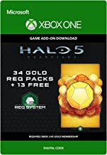 Halo 5: Guardians: 47 Gold REQ Packs - Xbox One Digital Code