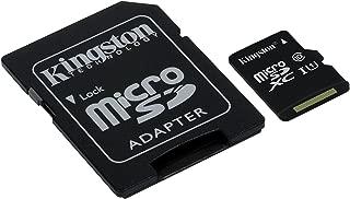 Professional Kingston 256GB BlackBerry Q10 MicroSDXC Card with custom formatting and Standard SD Adapter! (Class 10, UHS-I)
