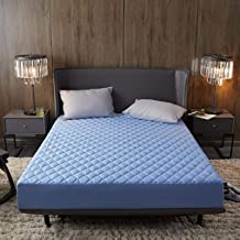 Bed simple color quilted waterproof bed sheet mattress cover Simmons bed cover bed cover Simple mattress protection cover ...