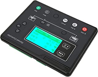Jeanoko HGM6110U 1Hz-10KHz Controlador de generador Prcatical 0.5-70V Controlador de Grupo electrógeno Arranque/Parada automático Industrial Estable para Grupo electrógeno único