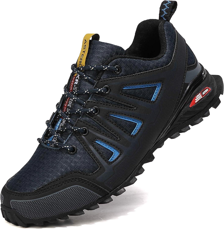 ASTERO Zapatillas de Deportes Hombre Running Zapatos para Correr Gimnasio Calzado Deportivos Ligero Sneakers Transpirables Casual Montaña Calzado Talla 41-46