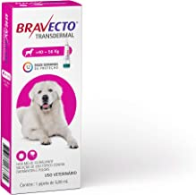Bravecto Transdermal Cães, 40 até 56kg, 1400mg Bravecto