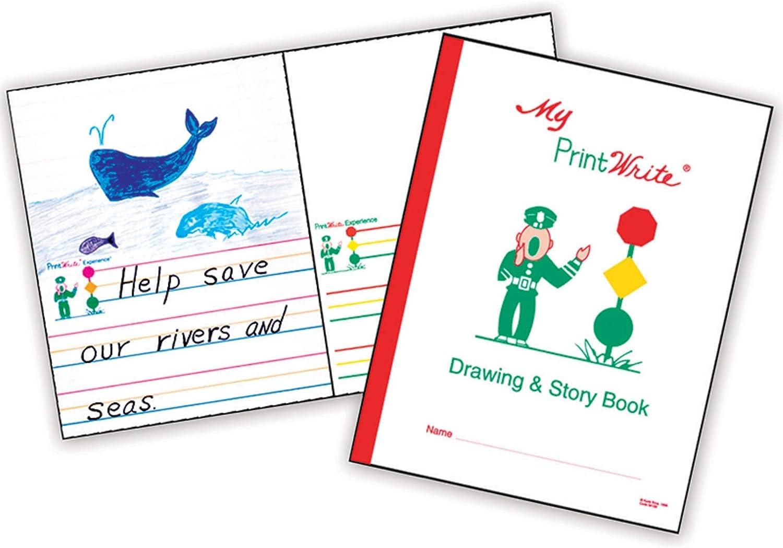 PrintWrite Drawing Story Book 8.5
