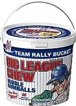 Big League Chew - Original Bubble Gum Flavor + 80pcs Individually Wrapped Gumballs + For Games, Concessions, Picnics & Parties