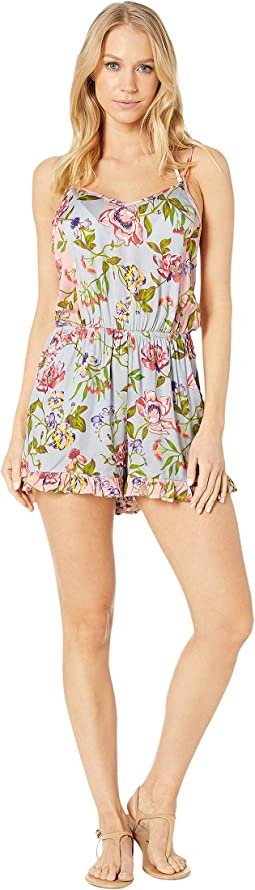 Garden Vines Romper Cover-Up