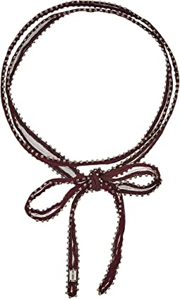 Chan Luu - 42' Viscose Chiffon Dip-Dye Necklace or Bracelet with Beaded Trim
