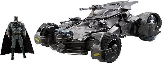 Mattel Dc Justice League Movie FRL54 R/C Batmobile: Amazon.de: Toys & Games
