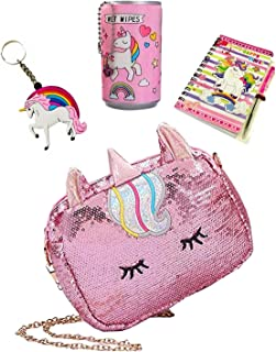 Le Delite Kids Handbag girls,Sling Bag,Coin Purses,Gift for kids girl,Cute bags/Unicorn stylish purse/baby girls doll bag/...