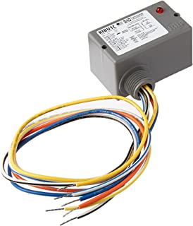 Functional Devices RIBU1C Enclosed Pilot Relay, 10 Amp Spdt with 10-30 Vac/Dc/120 Vac Coil