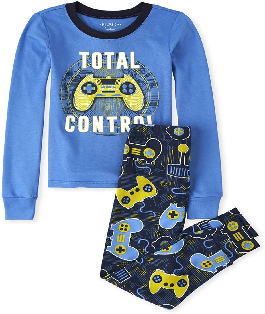 The Children's Place Boys' Top and Pants Pajama Set