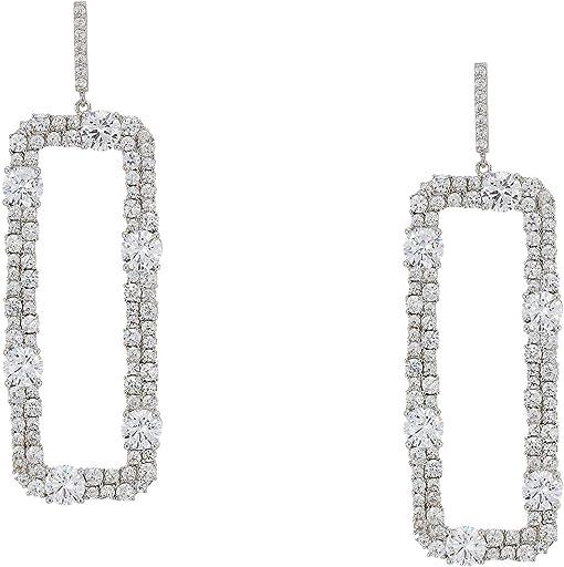 Rhodium/White Crystal