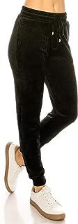 ALWAYS Women's Fluffy Plush Jogger Pants - Super Soft Winter Warm Cozy Pajama Furry Sleepwear Sweatpants