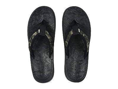 TOMS TRVL LITE Flip-Flop (Black Multi) Men