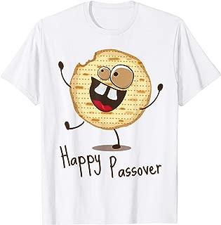 Happy Passover Funny Matzah Matzo Man Kids Cute Tee Shirts