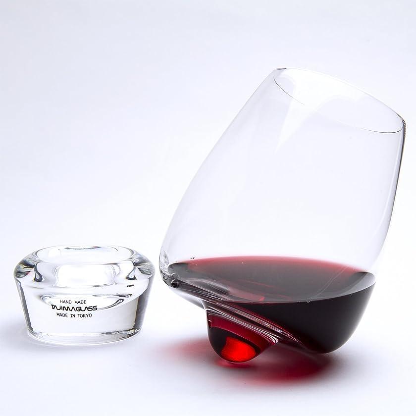 童謡ヒューマニスティック矛盾【田島硝子 】くるくる回るワイングラス「ワインブラー」【オリジナル箱】【ラッピング可】
