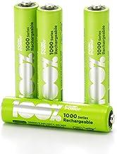 4 x Pilas Recargables AAA 100% PeakPower 1000 Series |