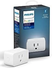 Philips Hue Smart Plug for Hue Smart Lights, Bluetooth &Hue Hub Compatible