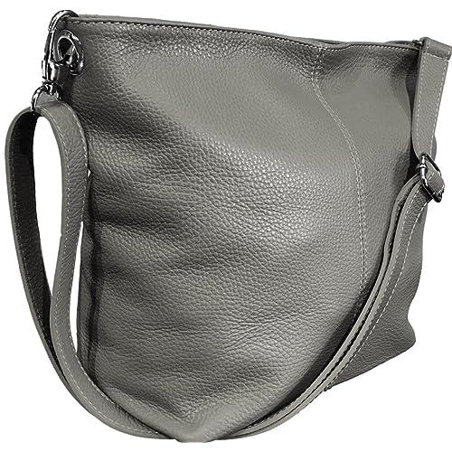 c811334ad8ac Handbag Bliss Genuine Italian Soft Leather Cross Body Shoulder Slouch Bag  Handbag With Cotton Like Lining