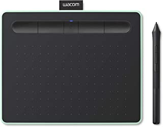 【Amazon.co.jp限定】ワコム ペンタブレット Wacom Intuos Smallワイヤレス クリスタ付き グリーン Androidにも対応 データ特典付き TCTL4100WL/E0
