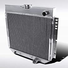 Autozensation For 20'' Aluminum Radiator Mustang Falcon V8 3 Core MT Passenger Side