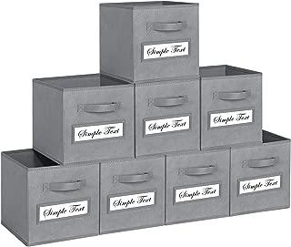 folding fabric storage cubes