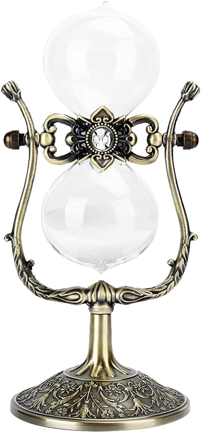 15 Minutes Store Hourglass Ornament Efficiently and G Trust Metal