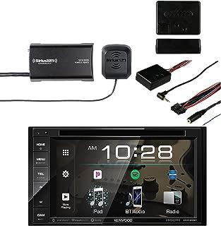 Kenwood DDX26BT Multimedia Bluetooth Receiver with Sirius SXV300v1 Vehicle Satellite Radio Tuner & Metra Axxess ASWC-1 Universal Steering Wheel Control Interface