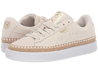 PUMA Suede Sneakerdrille (Marshmallow/Puma White) Women