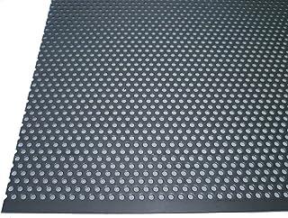 B/&T Metall T/ôle perfor/ée en aluminium 1,0/mm d/épaisseur diam/ètre des perforations 3/mm trous d/écal/és RV 3-5