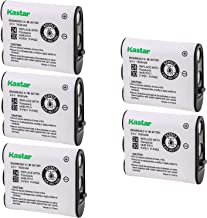 Kastar HHR-P511 / HHR-P402 Battery (5-Pack), Type 24/30 NI-MH Rechargeable Cordless Telephone Battery 3.6V 1800mAh, Replac...