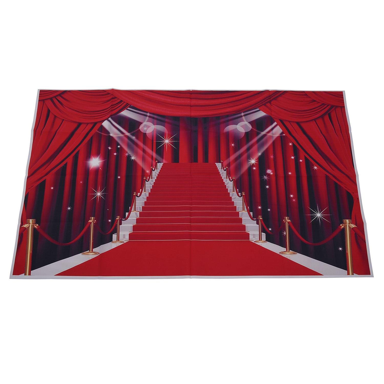 Semoic 3x5フィート ビニールの写真背景 バックドロップ壁 写真の背景 バックグラウンド レッドカーペット