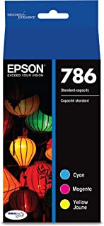 Epson T786520-S DURABrite Ultra Standard-Capacity Color Ink Cartridge, Multipack