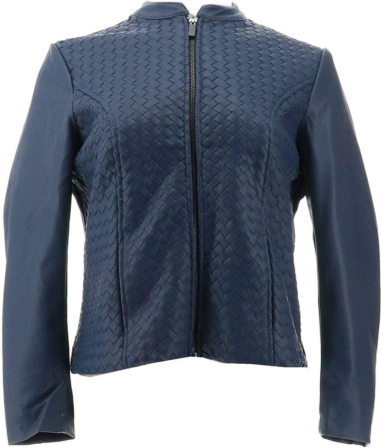 Colleen Lopez Faux Leather Jacket 612-213