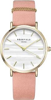Rosefield Orologio da Donna Digitale con Cinturino in Pelle – WBPG-W72