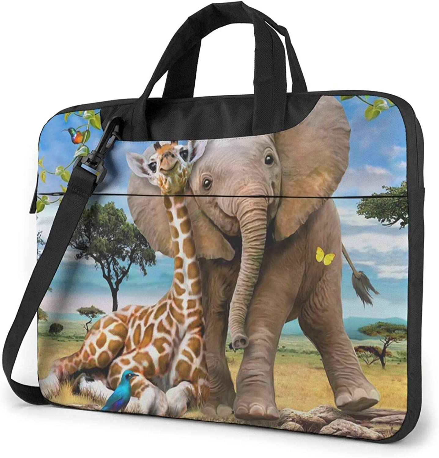 Laptop Shoulder Bag Elephant And Regular store Giraffe Tote Computer New Free Shipping Messe