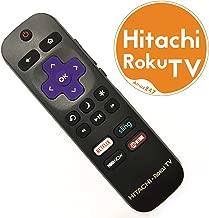 Original Hitachi Roku TV Remote w/Volume Control & TV Power Button for All Hitachi Roku TV (Roku Built-in TV, NOT Roku Player Connect w/TV)