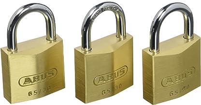 ABUS 35118 65/30 hangslot van messing 30 mm 3 stuks