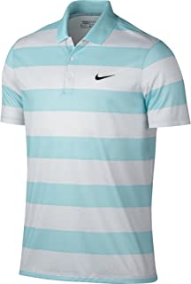 NIKE Golf Mens Yellow Polo Shirt