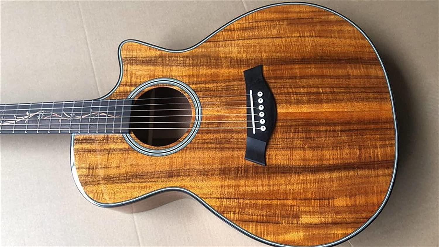 40 Inches Acoustic Guitar Koa Online limited product Wood Custom Acoust Regular dealer Electric