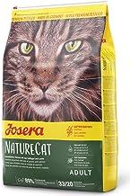 JOSERA NatureCat (1 x 10 kg) | getreidefreies Katzenfutter mit Geflügel und Lachs | Super Premium Trockenfutter für ausgewachsene Katzen | 1er Pack